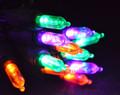 50 LED Orange/Purple/Green, Black Cord