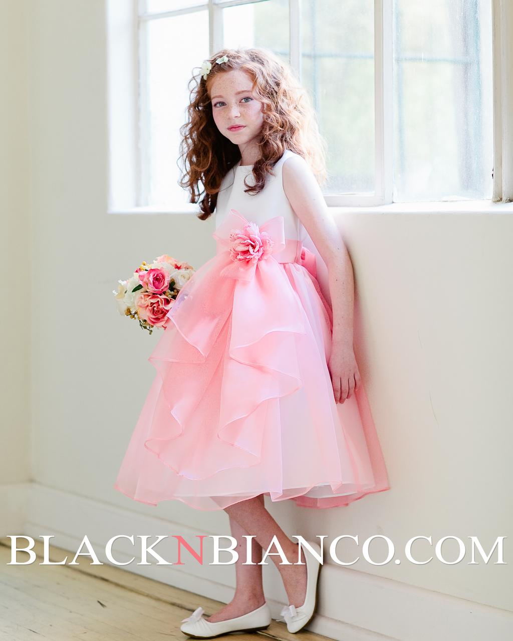 Layered Flower Girl Dress Layered Flower Girl Dress in