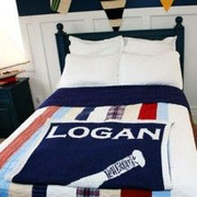 Personalized Blanket, Baseball