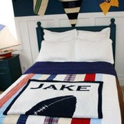 Personalized Blanket, Football