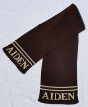 Personalized Scarf, 2 lines above name
