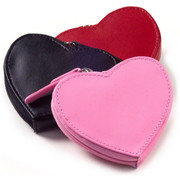 Personalized Heart Coin Purse