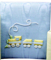 Large Post-Bound Scrapbook: Choo Choo Train