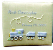 Medium Ring-Bound Photo Album: Choo Choo Train