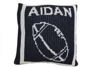 Personalized Pillow, Football