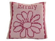 Personalized Pillow, Flower