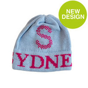Personalized Hat, Tweed Initial and Name