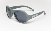 Children's Sunglasses, Aviators in Gray, 3-7+ years
