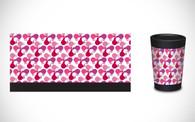 CuppaCoffeeCup - Pink Kiwis