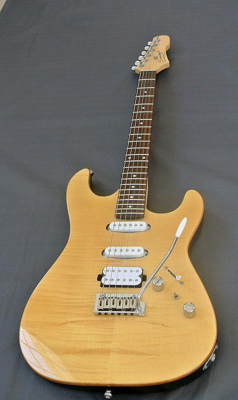 Swing Guitar Technology - S-2 Stage - Flame Maple Top Electric Guitar