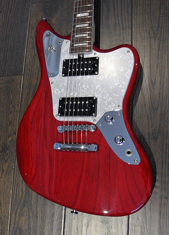 Bacchus Craft Japan - Windy  Ash - Electric Guitar - Transparent Red