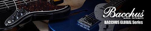 Bacchus Global Series Guitars and Basses
