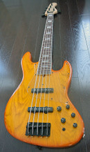 Bacchus Craft Japan Series - STD-JB ASH5 ver.2 - 5  String Active Bass