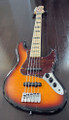 Maruszczyk Instruments - ELWOOD 5p - 5 String Bass in 3 Tone Sunburst