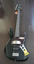 "Bacchus Global Series - WL-433 - 33"" Scale 4 String Bass - Black Finish"