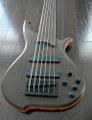 TUNE Hatsun TWB63NF-WG - 6 String Fretless Bass - Wenge - Black Hardware