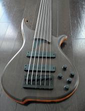 TUNE Hatsun TWB63NF-WG - 6 String Fretless Bass - Wenge - Black Hardware