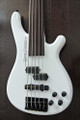 TUNE Bass Maniac TBJ51 - Fretless 5 String Active Bass - Snow White