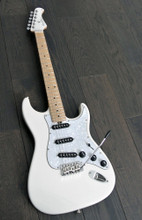 Bacchus Global Series - G-Player PLD Electric Guitar - Snow White - Maple Neck