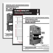 CB II CNC Press Brake Manual Bundle