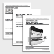 Maxform CNC Press Brake Manuals