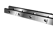 "Cleveland/Steelweld Shear Knives - 76"" Length, 4"" x 1"" Cross Section (239210) Type C"
