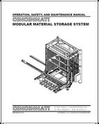 EM-562 (N 11-13) OSMM Modular Material Storage System