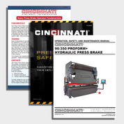 Proform+ CNC Press Brake Manuals