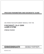EM-485 (R-11-04) Process Parameters and Diagnostic Guide - An Operation Supplement Manual for the CL-6 C2000 Laser System (i-Series Control)