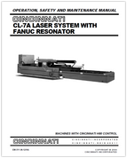 EM-511 (N-12-04) CL-7A Laser System with FANUC Resonator - Operation, Safety and Maintenance Manual - Machines with HMI Control