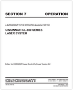 EM-544 (R-07-10) CL-800 Section 7 Operation