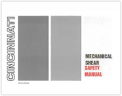 EM-379 Mechanical Shear Safety Manual