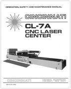 EM-416 CL-7A CNC Laser Center OSMM