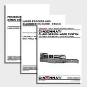 CL-800 CNC Laser Center Manual Bundle
