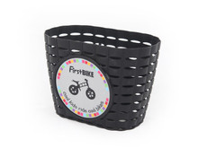 FirstBIKE Black basket