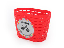 FirstBIKE Basket Red