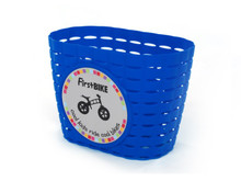 Firstbike Blue basket