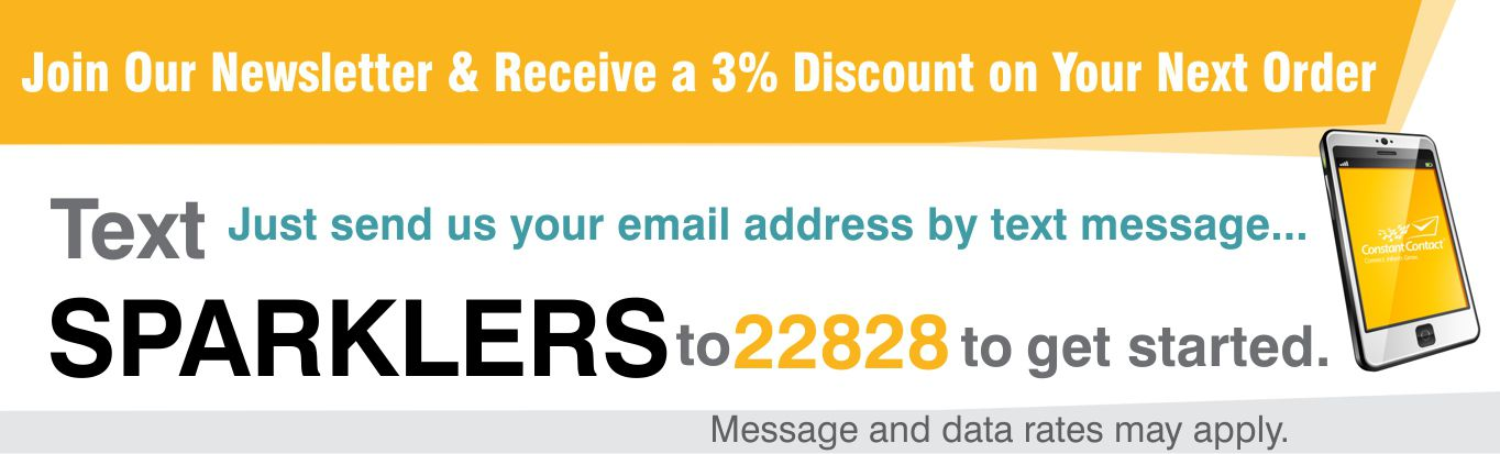 Join our mailing list & receive 3% off your next order.