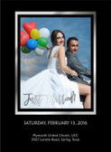 Custom Wedding Poster Board, Frame Cutout, Photo Prop