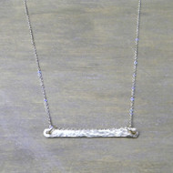 Setting the Bar Necklace