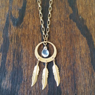 Dream catch me if you can - dreamcatcher necklace