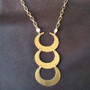 Necklace - Crescent Moons - Native American Style