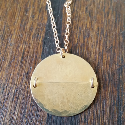 Necklace - Back to Back Necklace - Close
