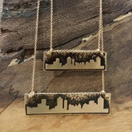 Large and Small Broadway Skyline Necklace