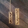 Small and Large Main Street Skyline Necklace
