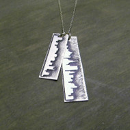 Two City Skyline Necklace