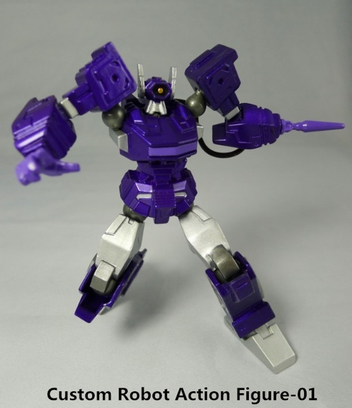 Custom Robots - Revoltech Shockwave
