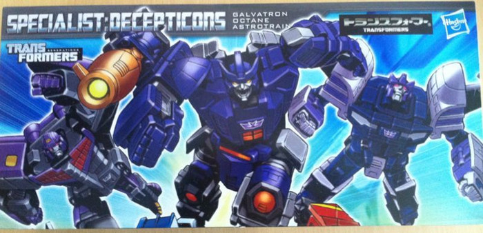 Henkei Classics - Decpticon Set - Galvatron, Octane and Astrotrain