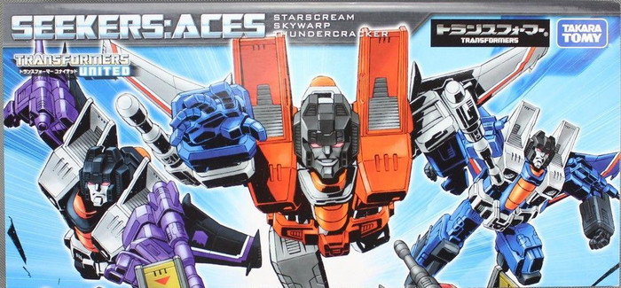 Henkei Classics - Decepticon Seeker Aces - Starscream, Thundercracker and Skywarp