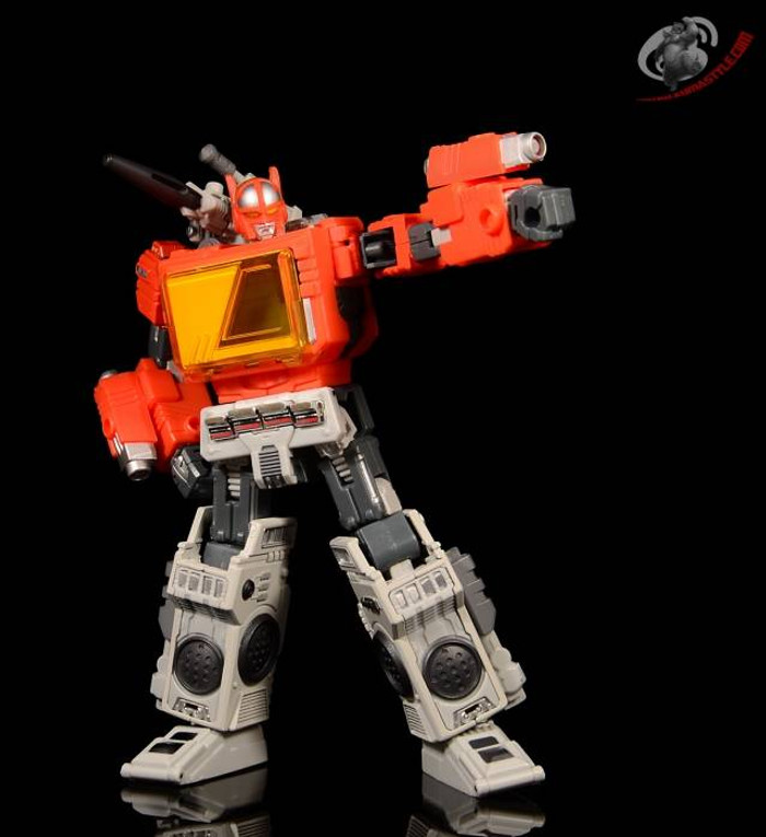 Mega Steel - MS-03 - Buster (aka Radio)